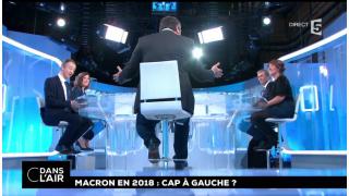 """Voeux de Macron : Toussaint et Pujadas """"décryptent"""" à la rame"""