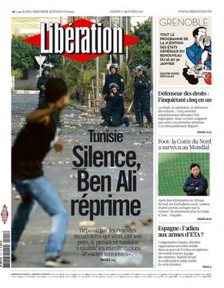 Libération Tunisie