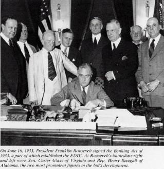 Signature du Banking Act