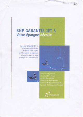 Plaquette Jet 3 BNP