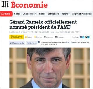 Le Monde Rameix