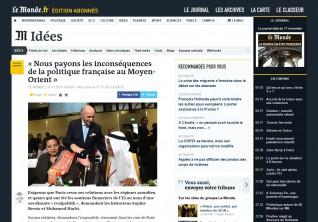 Le Monde - 17 novembre 2015