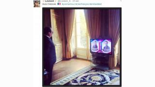 Hollande, la photo était fausse, mais juste