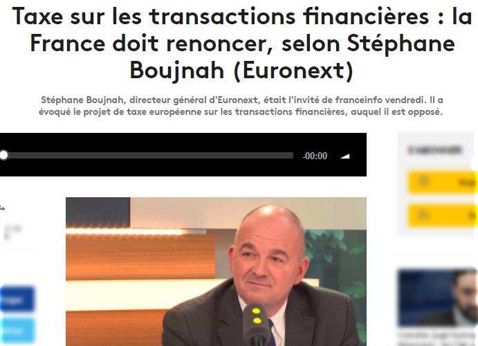 taxe sur les transactions financi 232 res la demande un report arretsurimages net le