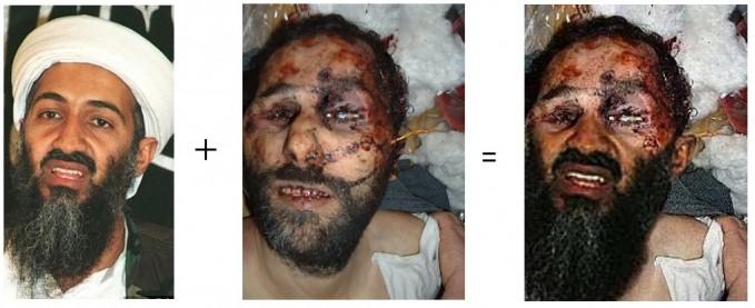 Photomontage de Ben Laden