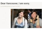 Vancouver excuses