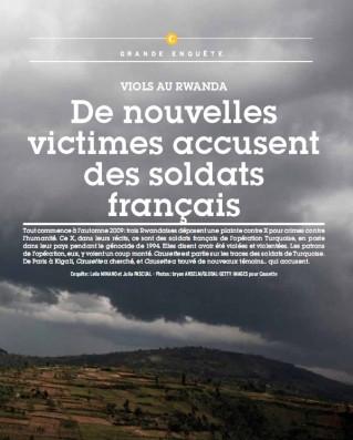 """Viols français au Rwanda : """"Causette"""" piratée et menacée ? Un magazine féminin piraté et menacé pour avoir fait ressurgir un sujet qui fâche : des viols perpétrés par des soldats français au Rwanda en 1994 ?"""