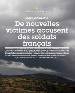 Causette - viols français au Rwanda ? - parution de novembre 2011