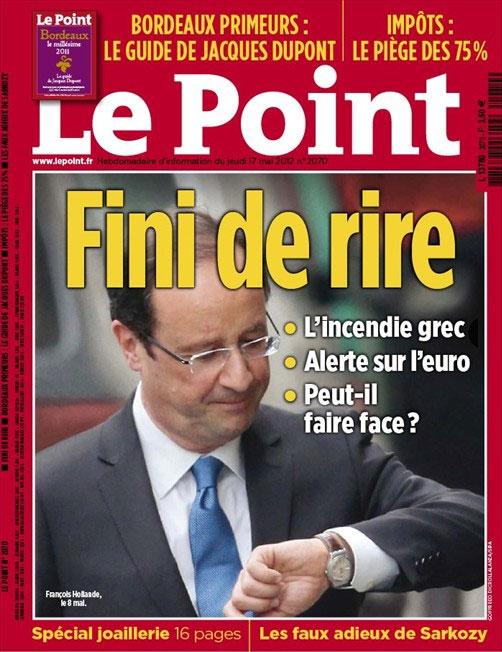 Hollande et sa montre l 39 envers le making of arr t sur images - Le journal de francois ...