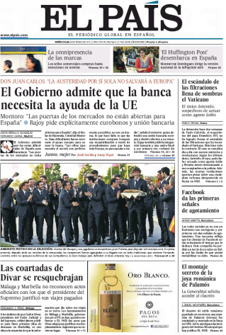 L 39 espagne va t elle demander l 39 aide europ enne presse ib rique - Nom de journal espagnol ...