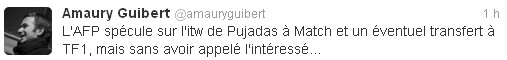 Tweet Amaury