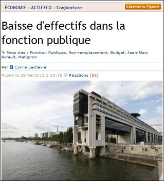 Figaro Fonctionnaires