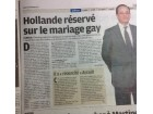 Hollande mariage gay