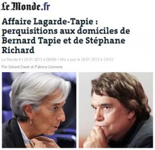 Affaire Tapie-Lagarde