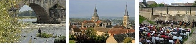 La Charité sur Loire, vue d'ensemble