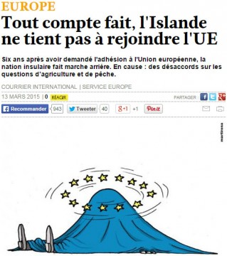 Islande UE