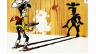 Lucky Luke plus vite que son ombre