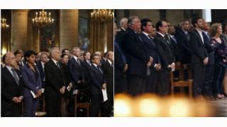Photo/Hommage père Hamel : l'Elysée a-t-il supprimé Sarkozy ?