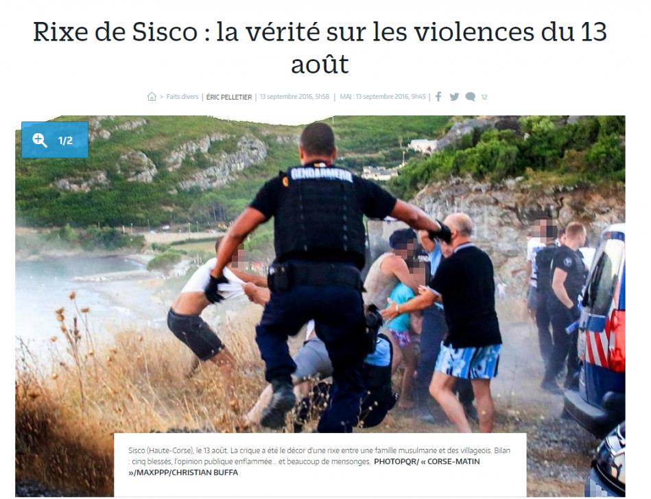 Le procès se tiendra bien à Bastia — Violences à Sisco
