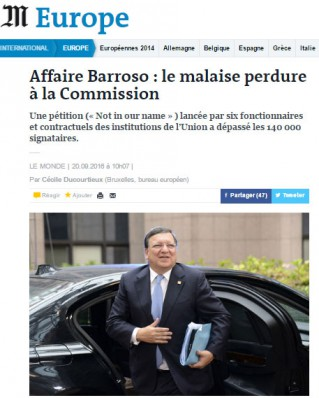 Barroso pétition