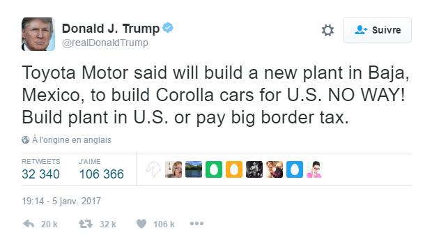 Trump Toyota