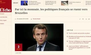 Macron L'Echo