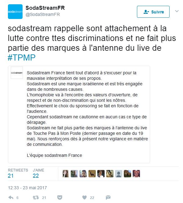 Sodastream Hanouna