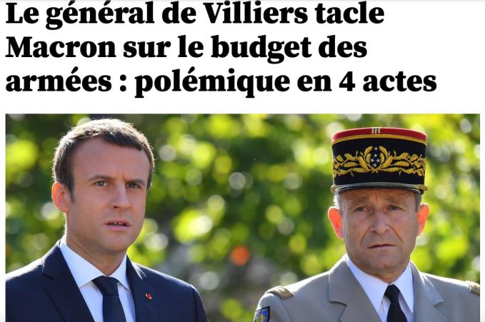 Armées : au milieu de ses troupes, Macron tente une opération reconquête