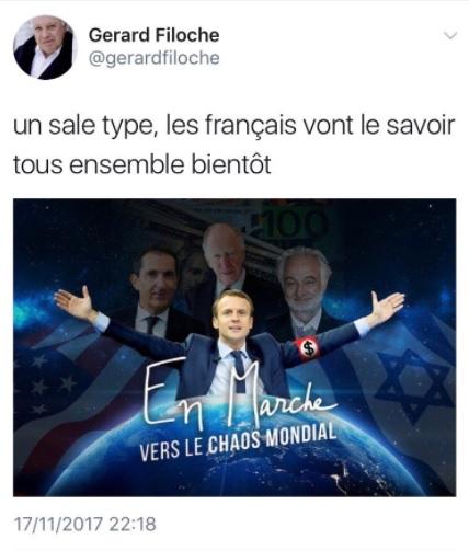 Le Tweet antisémite de Gérard Filoche