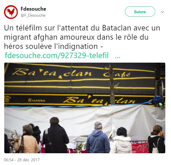 Une pétition lancée contre un téléfilm sur les attentats au Bataclan