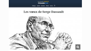 Pour 2018, Dassault recycle ses voeux 2016 et 2017 (et aime Macron)