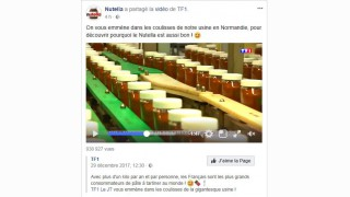 Nutella aime TF1 (qui aime Nutella)