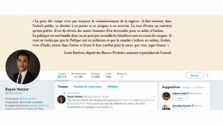 Nezzar, porte-parole LREM, ex-serial insulteur sur Twitter (Buzzfeed)