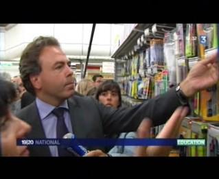 chatel supermarché
