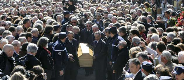 ferrat obsèques